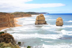 Two from Twelve Apostles Stock Photo