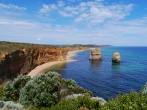 Two of the twelve apostles Stock Image