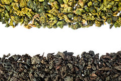 Two types of tea Royalty Free Stock Images