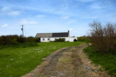 Two typical pembrokeshire cottages Royalty Free Stock Photos