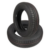 Two tyres Royalty Free Stock Photo