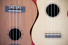 Two Ukulele Royalty Free Stock Photo