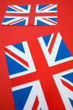 Two Union Jack Flags Royalty Free Stock Photography
