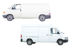 Two vans Stock Photos