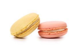 Two various  macaron cakes. Royalty Free Stock Photos