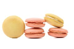 Two various  macaron cakes. Stock Photos