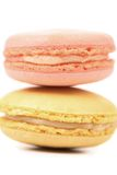 Two various macaron cakes. Royalty Free Stock Photography