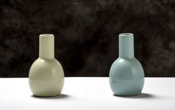 Two vases. Stock Images