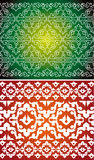 Two vector background Royalty Free Stock Photos