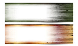 Two vector banner Royalty Free Stock Images