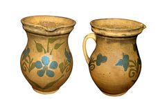 Two vessels of clay Stock Photo