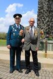 Two Veterans stock image