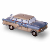Vintage russian car scale models made in USSR. Two vintage russian car scale models made in USSR Royalty Free Stock Photo