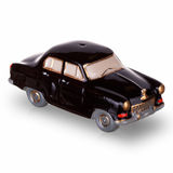 Vintage russian car scale models made in USSR. Two vintage russian car scale models made in USSR Royalty Free Stock Photography