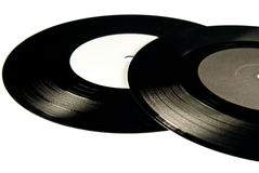 Two vinyls Stock Photo