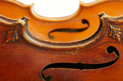 Two violins Royalty Free Stock Photography