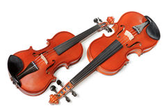 Two violins Stock Photo