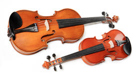 Two violins Royalty Free Stock Photo