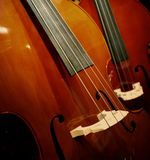 Two violins Royalty Free Stock Photos