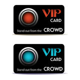 Two VIP cards Stock Image