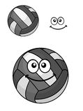Two volleyball balls Royalty Free Stock Photos
