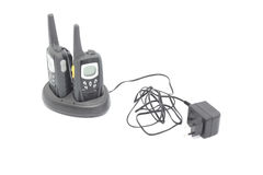 Two walkie talkies Stock Image