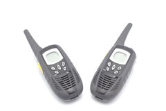 Two walkie talkies Royalty Free Stock Image