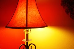Two Wall Lamp Stock Photo