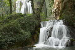 Two Waterfall Royalty Free Stock Image