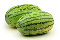 Two Watermelon Royalty Free Stock Images