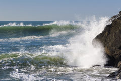 Two Waves Royalty Free Stock Photo