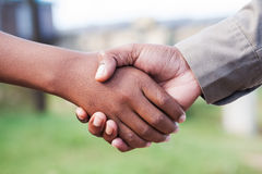 Two way agreement Royalty Free Stock Images