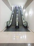 Two way escalator Stock Photo