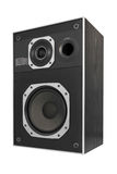 Two way hifi audio speaker Stock Image
