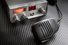 Two way radio Stock Image