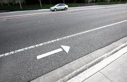 Two Way Street stock photo