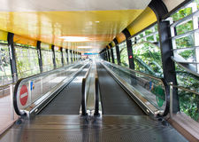 Two Way Travelator Stock Image