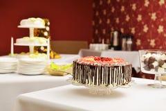 Two wedding cakes Royalty Free Stock Photos