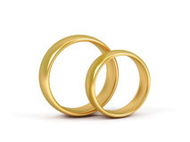 Two wedding ring. Stock Image