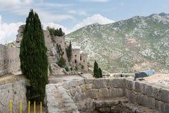 Two Weeks in Croatia - Klis Fortress. Two Weeks in Croatia - at the Klis medieval Fortress near Split stock image