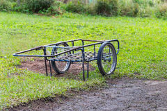 Two wheels handcart Stock Photo