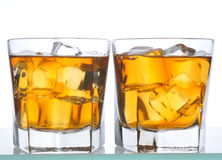 Two Whiskeys Stock Image