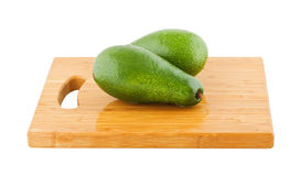Two whole avocados Royalty Free Stock Photo