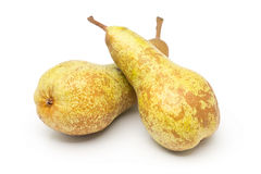 Free Two Whole, Uncut `abate Fetel` Pears  Stock Photo - 81872930