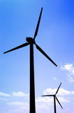 Two windmill Royalty Free Stock Image