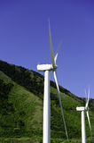 Two Windmills or Wind Turbines Royalty Free Stock Photography