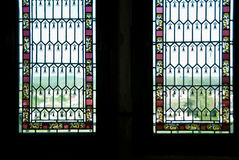 Two window stock images