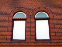 Two windows Royalty Free Stock Images