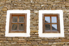 Two windows Royalty Free Stock Photos
