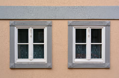 Two windows Royalty Free Stock Image